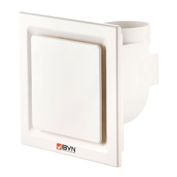 Plastik - Standart Radyal Banyo - WC Aspiratörü