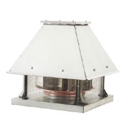 Yatay Atışlı (Motor Hava Akımının Dışında) Radyal Çatı Fanları - Exproof